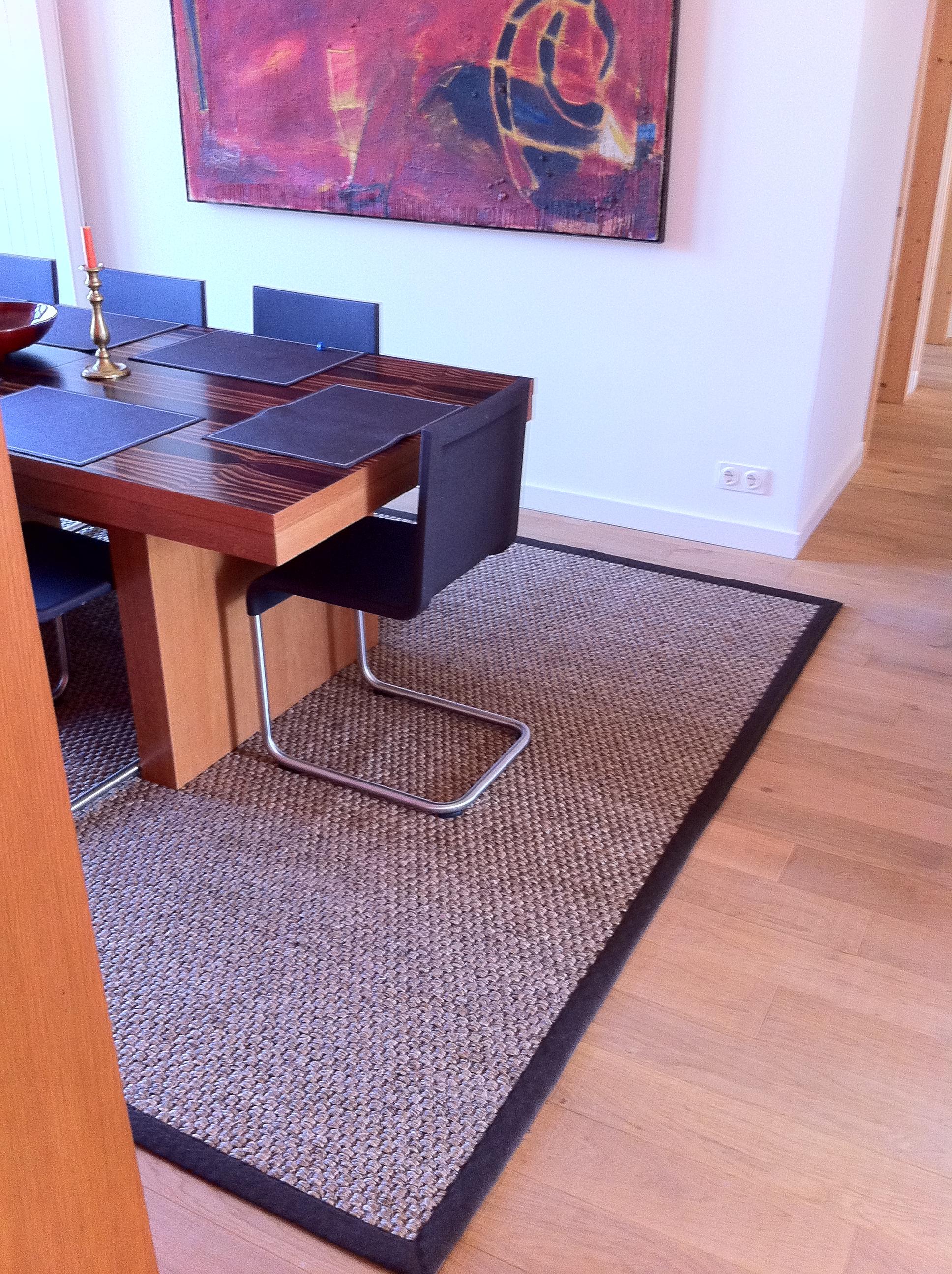 Sisalteppich Furs Esszimmer Gembinski Teppiche