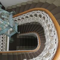 Gedrehte Treppe Teppich