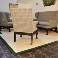Sisalteppich Sessel