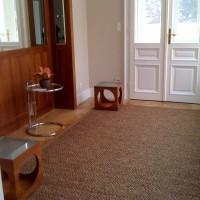 Sisalteppich für den Eingangsbereich