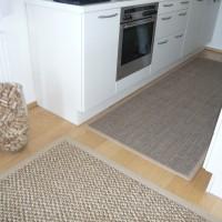 Sisalteppich Küche