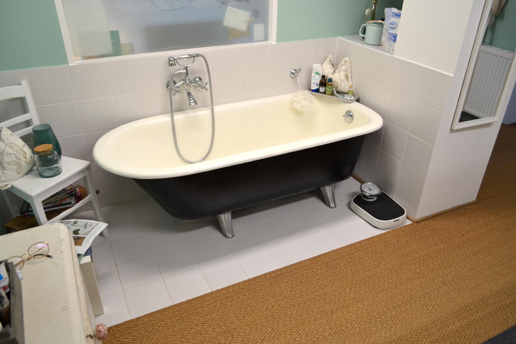 Kokos Badezimmer