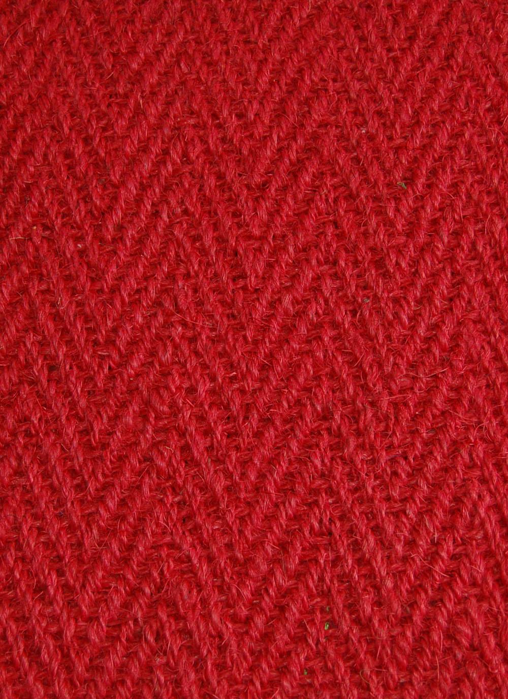 Kokosteppich Rot
