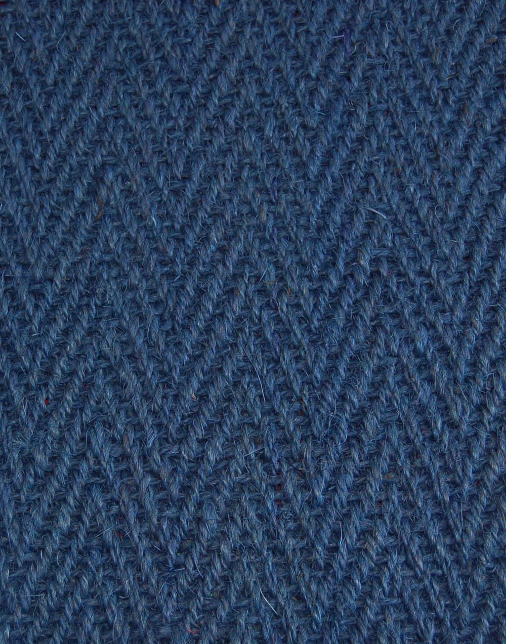 Kokosteppich Blau