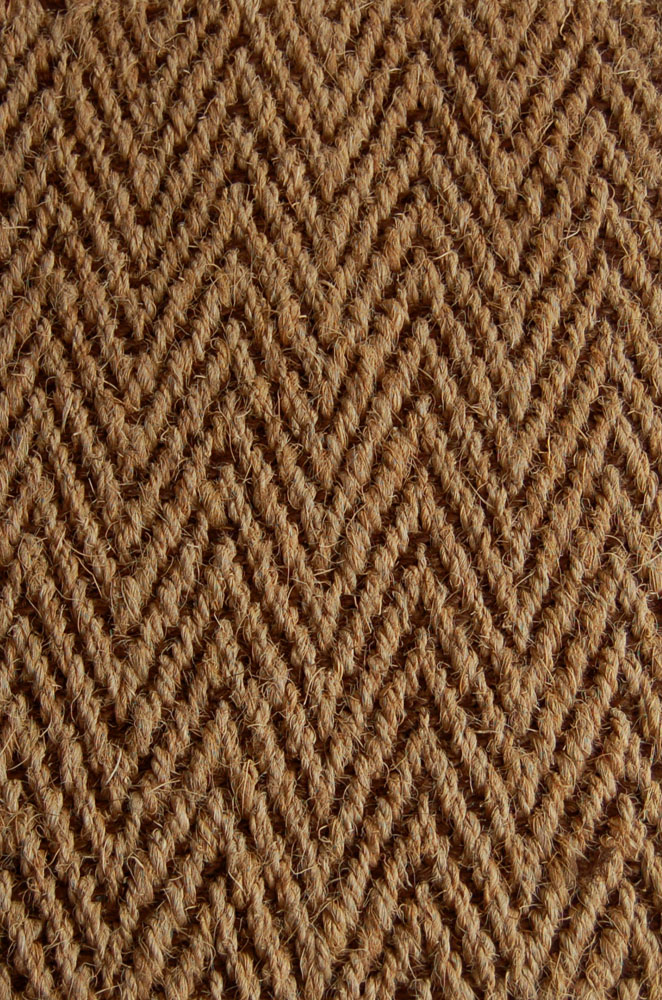 Kokosteppich Natur-Braun