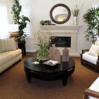 Kokos Wohnzimmer