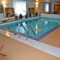 Kokosteppich Schwimmbad