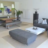 Sisalteppich modern
