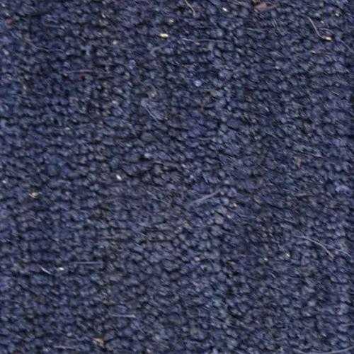 kokosmatte blau