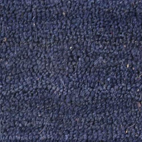 Schmutzmatte Kokos Blau 17mm