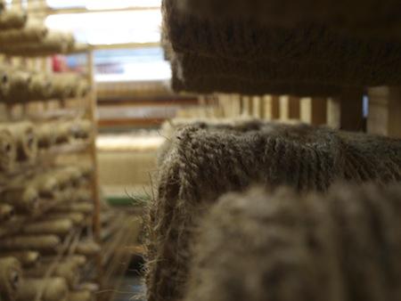 Teppichproduktion