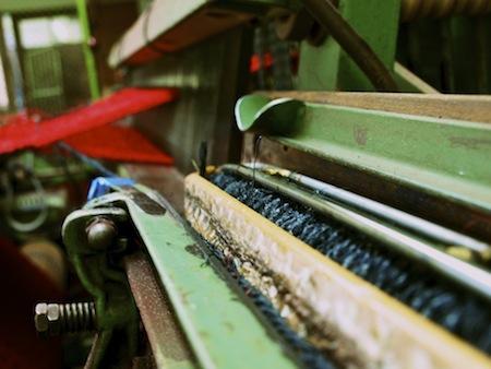 Teppichproduktion Kokosteppich