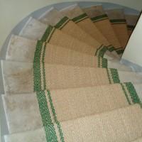 Grün Treppen Teppich