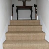 Sisalteppich Treppe