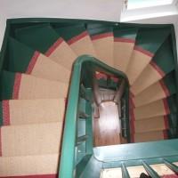 Gedreht Holz Teppich