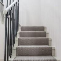 Treppe Fischgrat modern