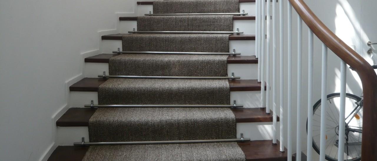 Teppiche nach Maß für die Treppe
